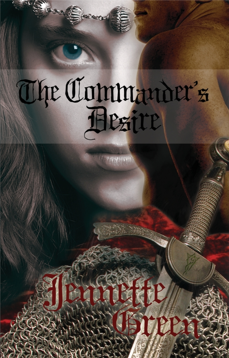 Medieval romance book, The Commander's Desire